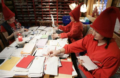 post office answers letters to santa