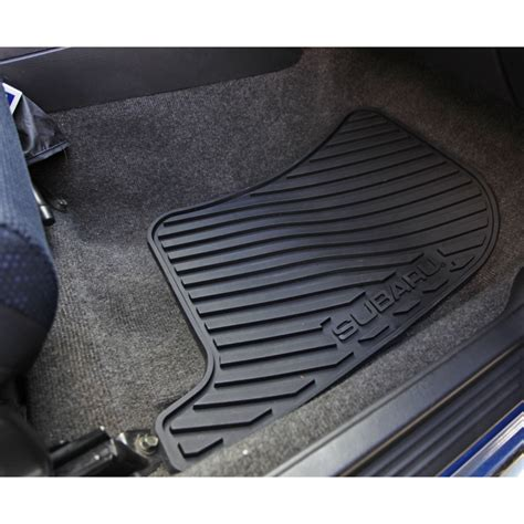 Oem All Weather Floor Mats by Subaru Oem All Weather Rubber Floor Mats 2002 2007 Impreza