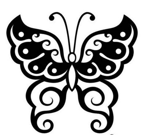 tato kupu kupu tattoo tribal kupu kupu gambar seni tattoo