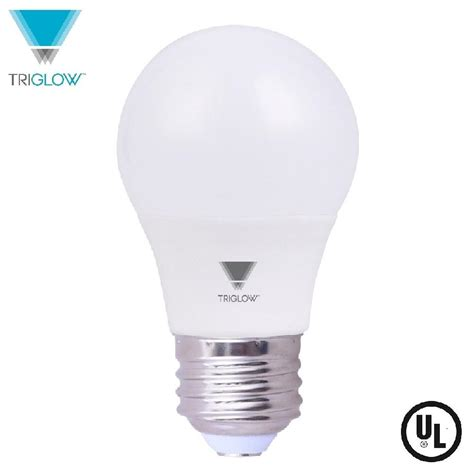 led appliance light bulbs triglow 6 5 watt a15 led appliance light bulb daylight