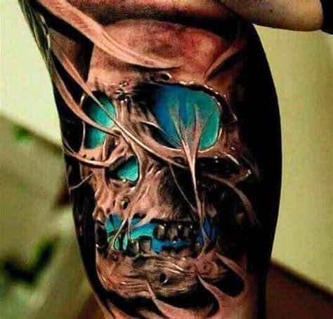 tattoo 3d caveira tatuagens de caveira inspire se com as melhores