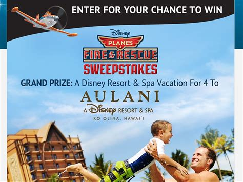 disney movie rewards planes fire rescue sweepstakes - Disney Movie Rewards Sweepstakes