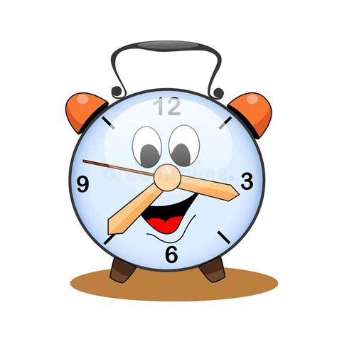 clipart orologio orologio fumetto illustrazione vettoriale