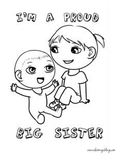 coloring pages baby sister downloads welcome baby baby pinterest coloring