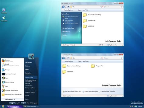 themes xp best collections sevan remix windows 7 theme for xp