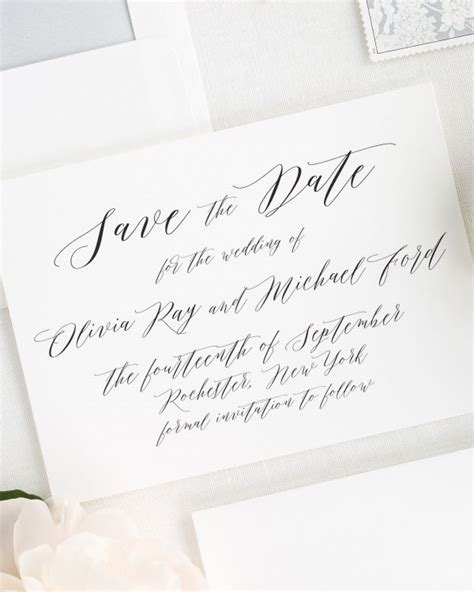 Wedding Save The Date by Wedding Invitations Wedding Invitations By Shine