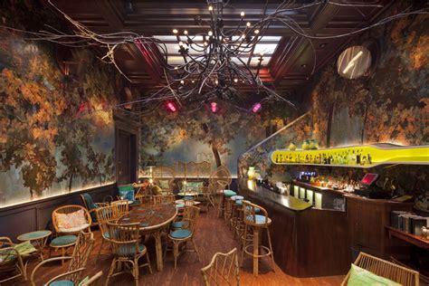 Sketches Restaurant by Sketch Stylish Restaurant Hip Bar Mayfair