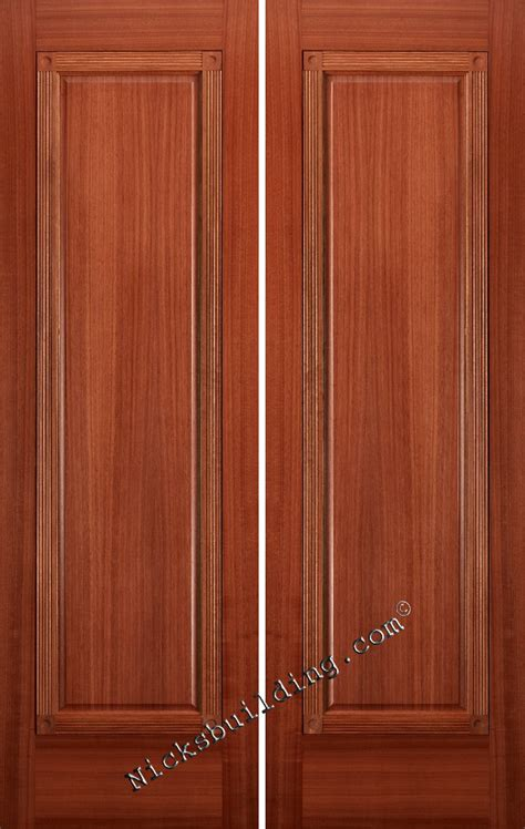 Mahogany Interior Doors 1 Panel Mahogany Interior Doors