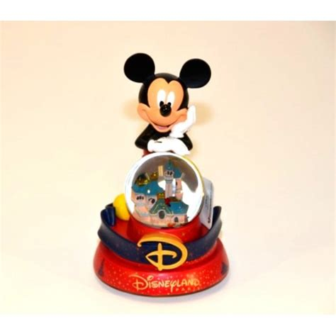 snow globes musical mickey mouse musical snow globe