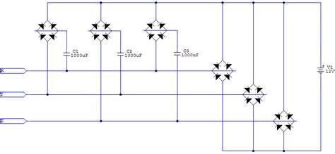 diode circuits in parallel diodes in parallel