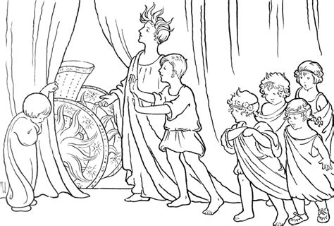 Roman Child Colouring Pages Rome Coloring Pages