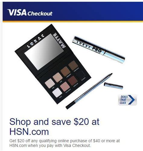 Hot 20 Off 40 Hsn Purchase 50 Hsn Gift Card Giveaway - hot 20 off a 40 purchase at hsn with visa checkout couponista queen saving