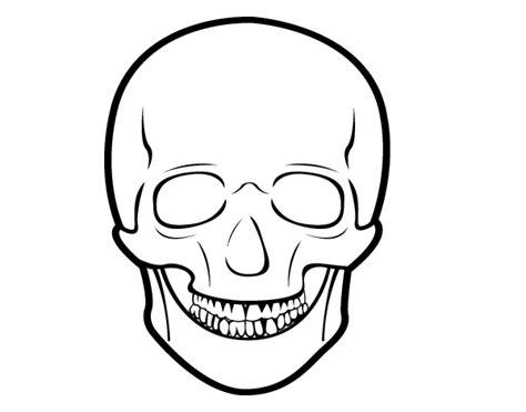 human skull coloring page human skull colouring pages