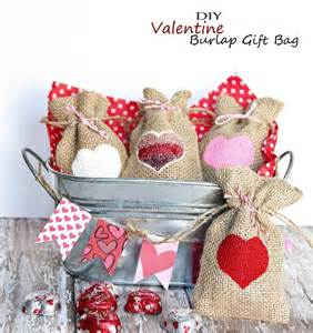 craft ideas for gifts burlap gift bag easy kid