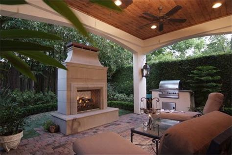 covered patio with fireplace deck patio