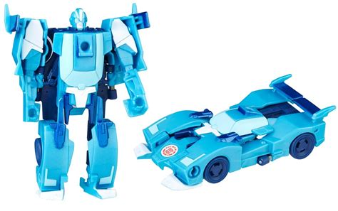 Transforners Combine Android E robots in disguise 2015 one step changer blurr review transformers