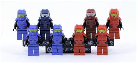 Blue Pack Vs clone army customs squad pack blue vs