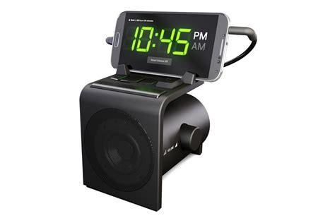 android alarm clock dock alarm clock speaker dock for android phones