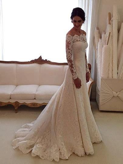 Brautkleid Langarm Vintage by Sch 246 Ne Hochzeitskleider Tolle G 252 Nstige Brautkleider 2014