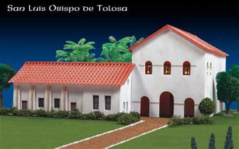 Mission San Carlos Borromeo De Carmelo Floor Plan by Missions Of California San Luis Obispo De Tolosa Project Kit