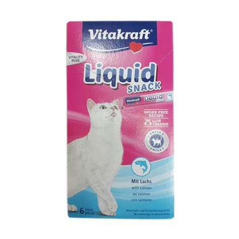 Vitakraft Liquid Snack Salmon Original jual vitakraft cat liquid snack with salmon omega 3 cat