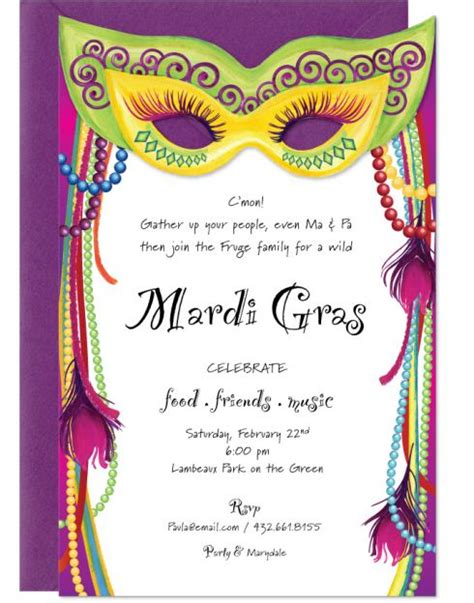 free mardi gras invitation templates mardi gras masks mardi gras and masks on