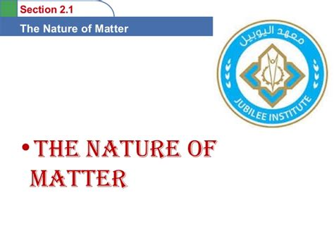 section 2 1 the nature of matter section 2 1 the nature of matter 28 images 2 1 the
