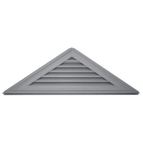 Shop Builders Edge 62 5 In X 20 8 In Paintable Triangle