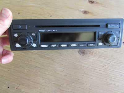 Audi Concert 2 by Audi Tt Mk1 8n Concert 2 Cd Player Radio Stereo Head Unit