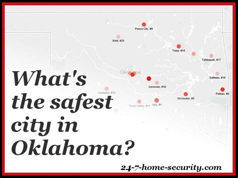 10 safest cities in oklahoma 24 7 home security
