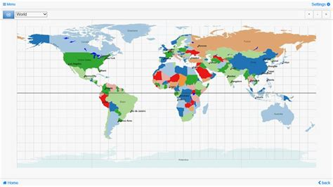 map of the world zoomable world atlas quiz mxgeo pro for windows 8 and 8 1