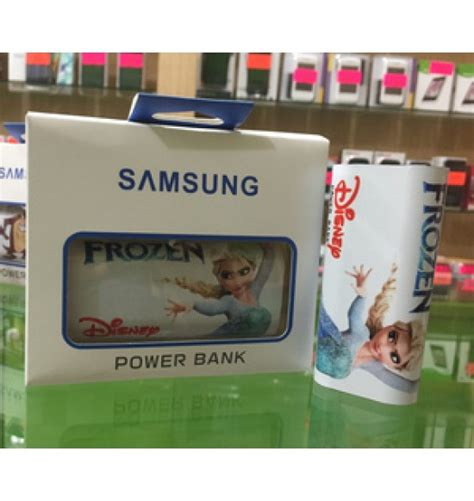Power Bank Karakter powerbank samsung karakter elsa frozen 20000 mah murah