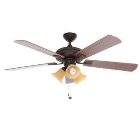 Ceiling Fans Scottsdale Az hton bay scottsdale 52 in indoor rubbed bronze