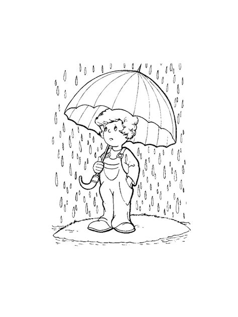 rainy day coloring pages free printable rainy day coloring pages for kids coloring home