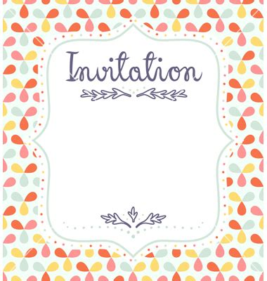 5 invitation templates word excel pdf templates