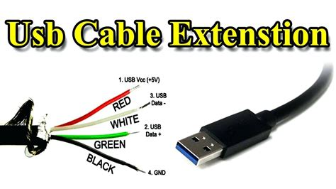 usb cable wire color code micro usb cable wiring diagram extension different wire