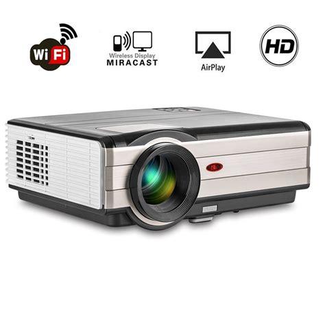 Wifi Vga Projector wireless projector wifi 3500 lumens high brightness 1080p porjector 1080x800 hdmi vga usb