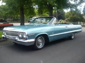 Chevrolet Impala Convertible For Sale 1963 Chevrolet Impala Ss Convertible
