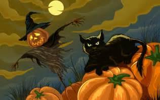 halloween black cats halloween black cat wallpaper 1064378