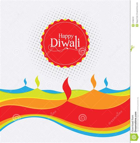 How To Make A Diwali L With Paper - vector paper diwali design template stock vector image