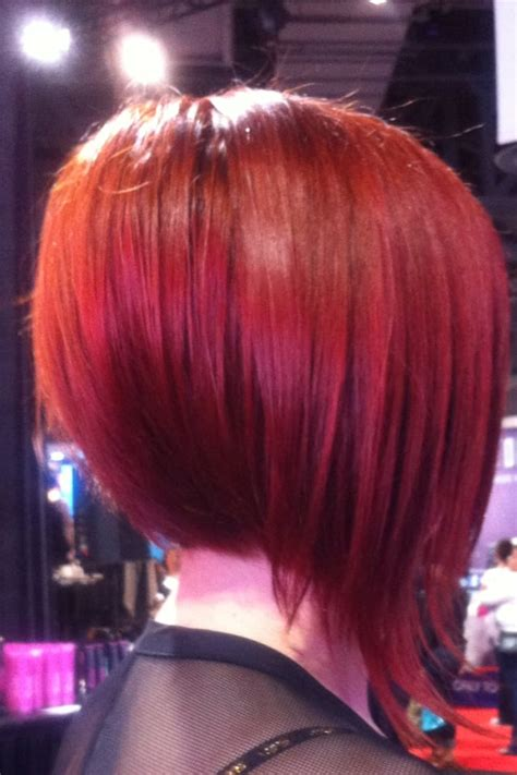 medium bob hairstyles brazillian blowout sexy color brazilian blowout and a line bob haircut irvine