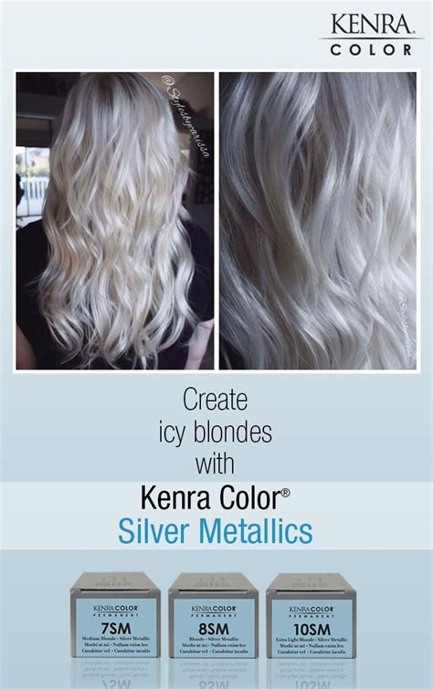 kenra silver metallic hair color white hair with kenra silver metallic 10sm search