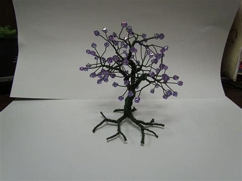 how to make a beaded wire tree make a beaded wire tree centerpiece trees wire and wire