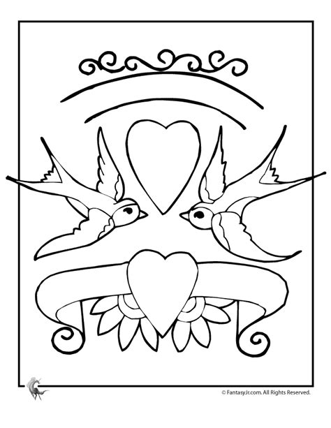 love coloring pages to print coloring home
