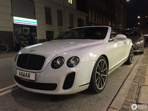 bentley sport 2016 bentley continental supersports convertible 23 november