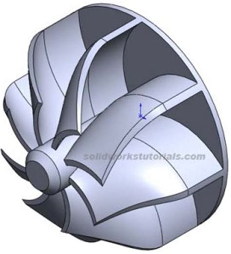 tutorial turbo solidworks how to create turbo fins