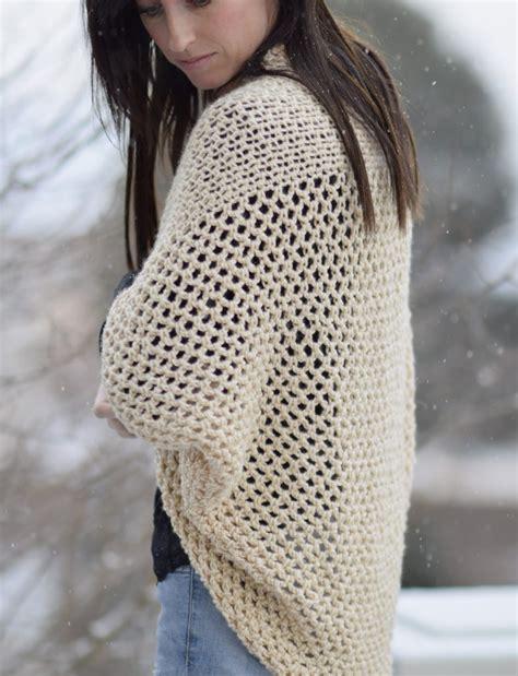 pattern of crochet sweater mod mesh honey blanket sweater mama in a stitch