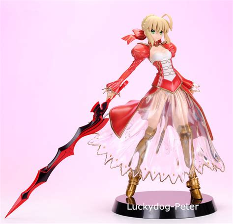 Figure Saber Fate Zero aliexpress buy fate stay figure saber 1 8 scale painted figure