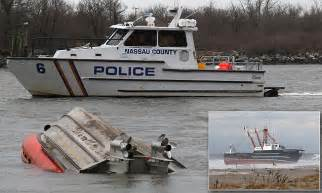 new york boat show coupon coast guard vessel capsizes on way to rescue fishing boat