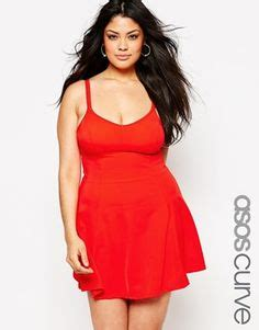 Asos Curve Swim Dress plus size swimsuits on plus size swimwear